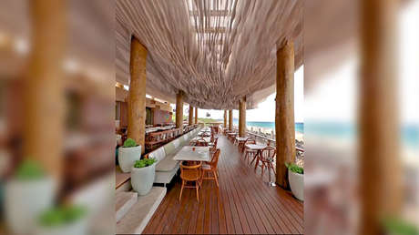 inusual techo terraza restaurante grecia vuelve viral red