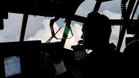 La peor turbulencia que ha sufrido el piloto: Graban el huracán Michael desde un avión (VIDEOS)