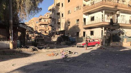 agencia estatal siria civiles sirios muertos ataques