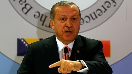 Turkish President Tayyip Erdogan. ©Murad Sezer