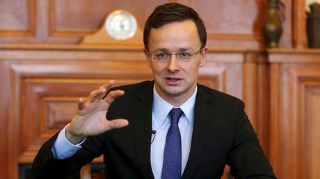 Hungarian Foreign Minister Peter Szijjarto. ©Laszlo Balogh