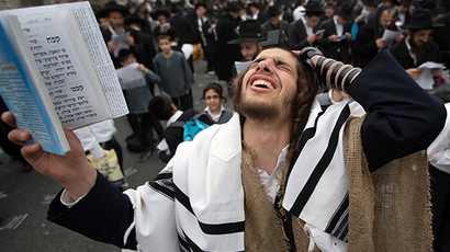 'Half million' Orthodox Jews rally against military service