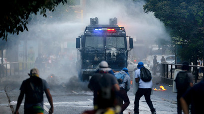 Easter anti-government riots in Venezuela