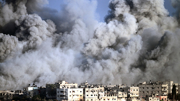 Gaza trail of destruction as temporary ceasefire ends