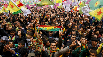 Jailed Kurdish leader calls for peace with Turkey during Newroz feast