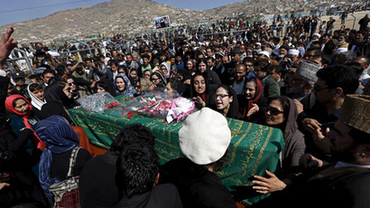 Hundreds gather for funeral of lynched woman in Afghanistan