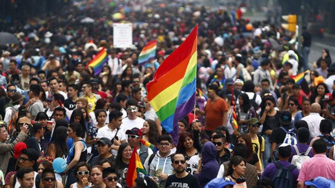 Massive gay pride celebrations hit the globe