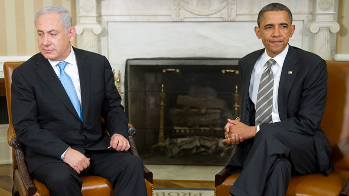 Barack Obama (R) and Benjamin Netanyahu (AFP Photo / Jim Warson)