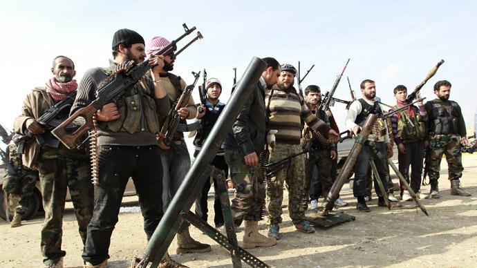 Free Syrian Army fighters (Reuters/Muzaffar Salman)