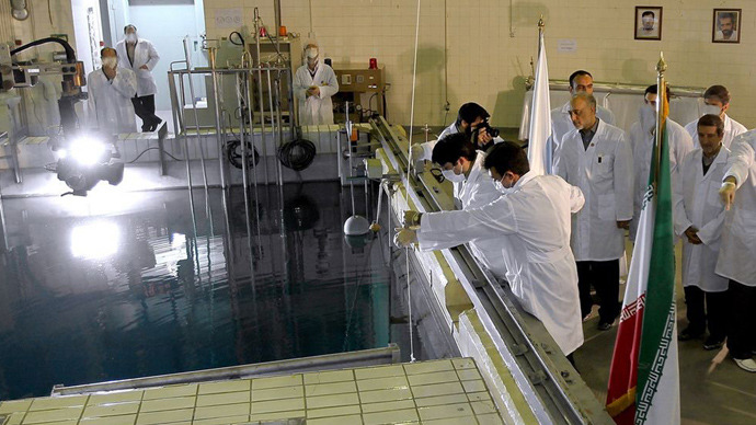 Tehran's research reactor centre (AFP Photo / Iranian Presidency)