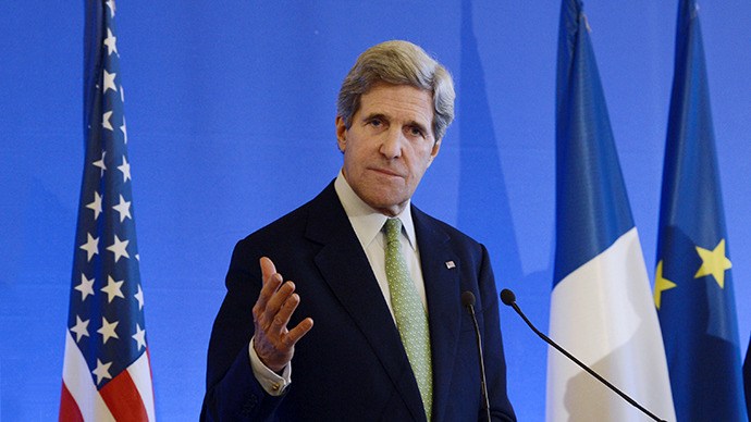 U.S. Secretary of State John Kerry. (AFP Photo / Bertrand Guay)