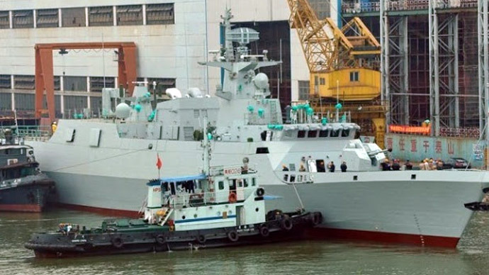 Type 056 Jiangdao class frigate (Photo from chinhdangvu.blogspot.ru)