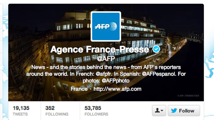 Screenshot from Twitter.com/AFP