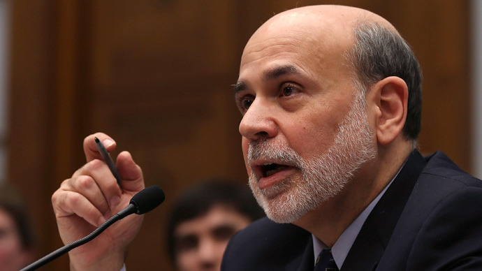 Ben Bernanke (Mark Wilson / Getty Images / AFP)