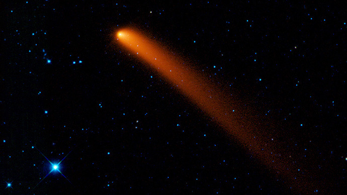 Comet Siding Spring. (Image from nasa.org / Spitzer Space Telescope)