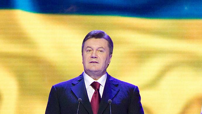 Ukrainian President Viktor Yanukovych. (RIA Novosti / Andreі Mosienko)