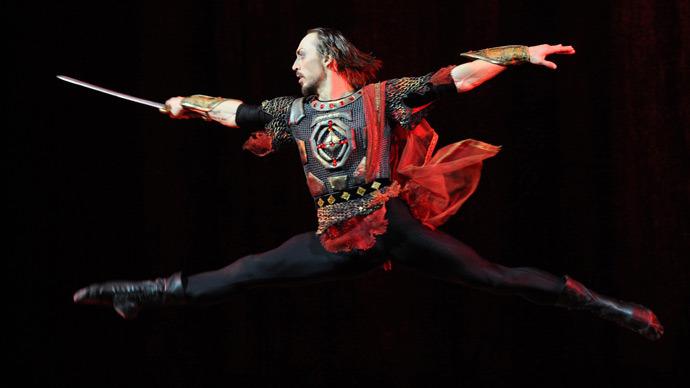 Bolshoi Theater's principal dancer Pavel Dmitrichenko (RIA Novosti / Vladimir Fedorenko)