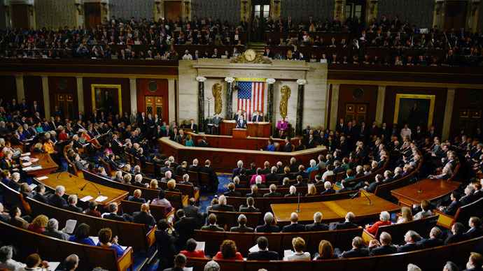 US Congress in the House chamber at the Capitol (AFP Photo / Brendan Smialowski)