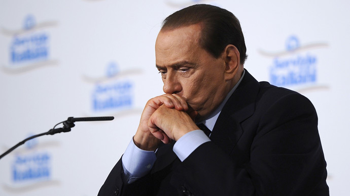 Italy's former Prime Minister Silvio Berlusconi (AFP Photo)