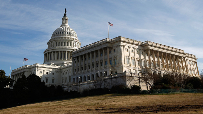 A general view of the U.S. Capitol building in Washington (Reuters / Jason Reed)