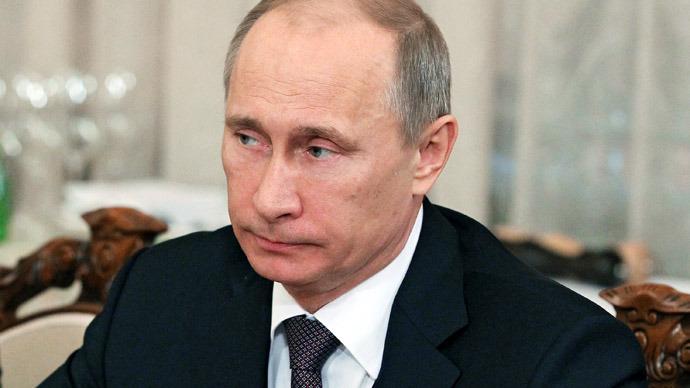 Russian President Vladimir Putin (RIA Novosti/Mikhail Klimentyev)