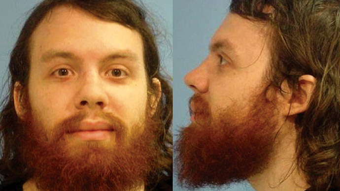 Andrew Auernheimer is seen in this police booking photograph taken by the Fayetteville, Arkansas Police Department June 15, 2010 and released January 18, 2011. U.S. (Reuters/Fayetteville Police)