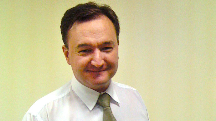 : A handout photo provided by Hermitage Capital Management and taken on September 17, 2007, shows Russian lawyer Sergei Magnitsky smiling in Moscow. (AFP Photo)