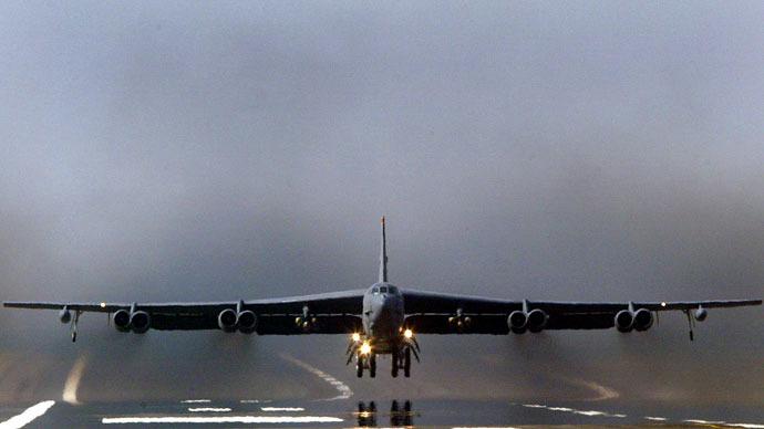 American B-52 bomber.(Reuters /DarrenStaples)