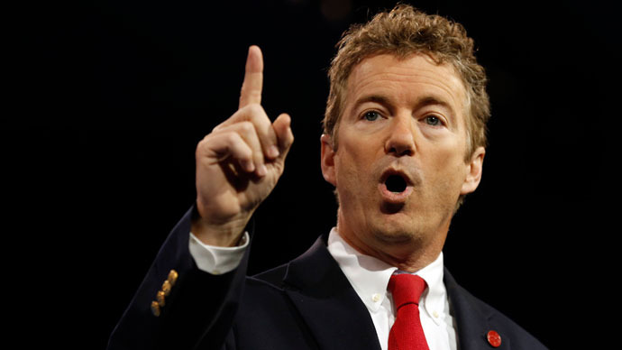 Senator Rand Paul of Kentucky.(Reuters / Kevin Lamarque)