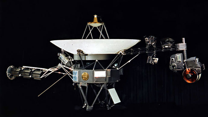 Voyager 1.(Photo from nasa.gov)