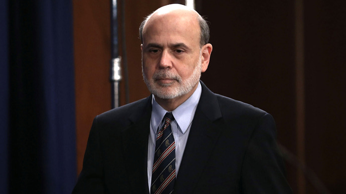 Ben Bernanke (Alex Wong / Getty Images / AFP)