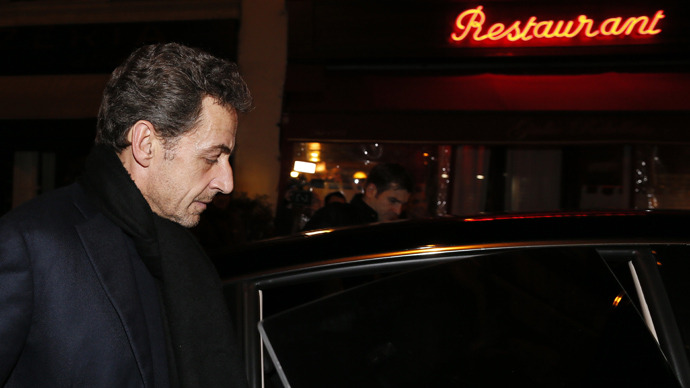 French former President Nicolas Sarkozy (AFP Photo)