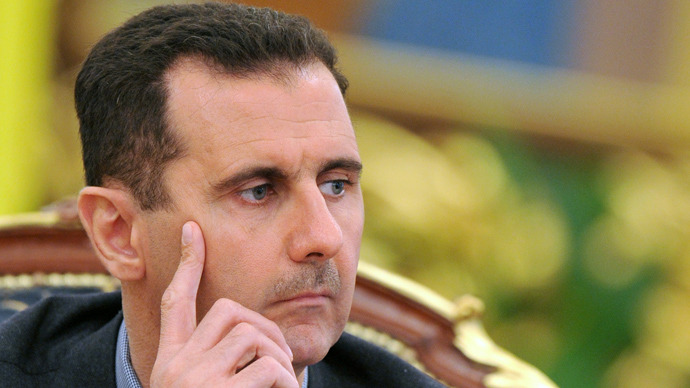 Syria's president Bashar al-Assad (AFP Photo / Sergey Supinsky)