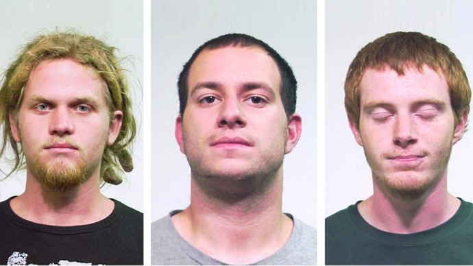Jared Chase, Brent Betterly, Brian Church (Chicago Police / May 19, 2012)