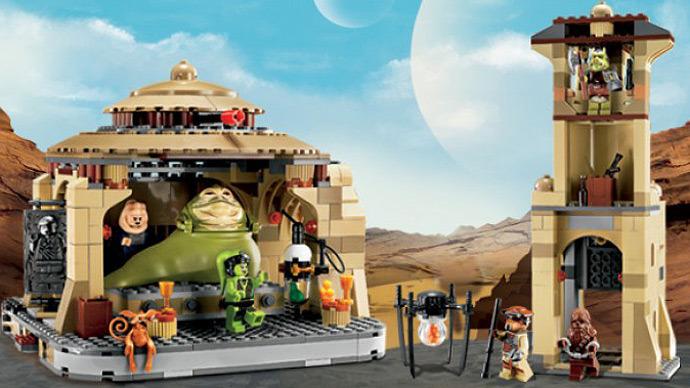 Jabba's Palace, Lego