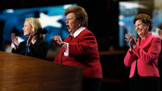 U.S. Senator Barbara Mikulski.(Reuters / Jessica Rinaldi)