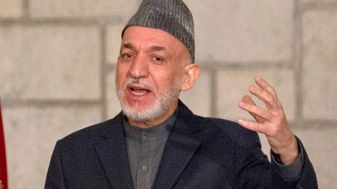 Hamid Karzai (AFP Photo / Jason Reed / Pool)