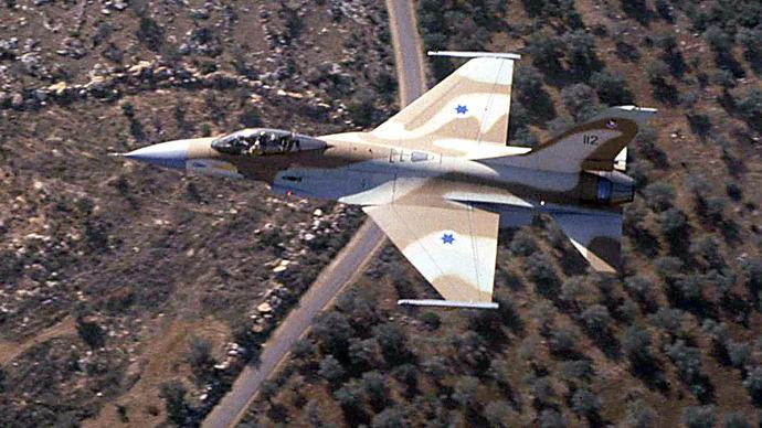 Israeli F-16 (AFP Photo / GPO)