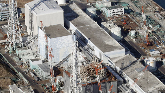 Fukushima Daiichi nuclear power plant in Fukushima Prefecture (Reuters/Kyodo)