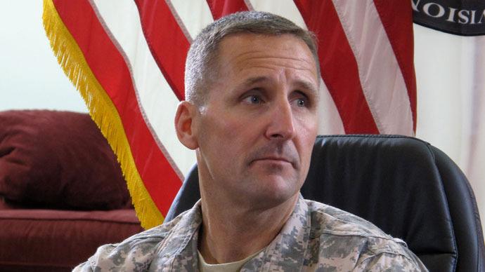 Maj. Gen. Ralph Baker.(AFP Photo / Prashant Rao)