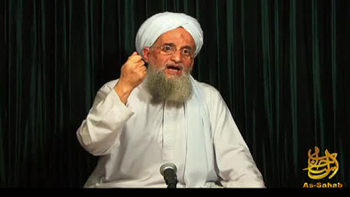 Al-Qaeda leader Ayman al-Zawahiri. (AFP Photo / Site Intelligence Group)