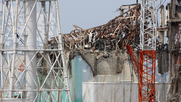 This file picture taken on May 26, 2012 shows the unit 3 reactor building of the Tokyo Electric Power Co.'s (Tepco) Fukushima Dai-Ichi nuclear power plant in Okuma in Fukushima prefecture, northern Japan. (AFP Photo)