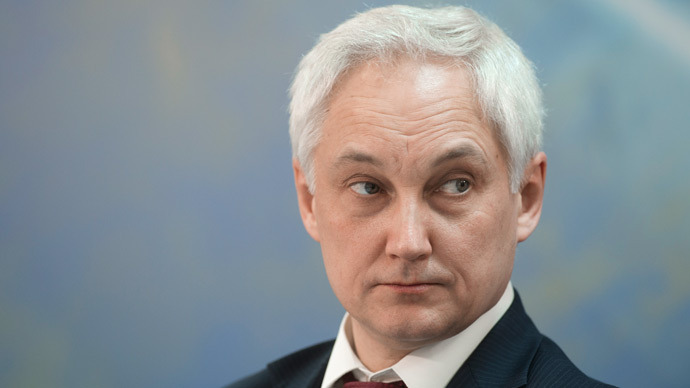 Minister of Economic Development Andrey Belousov (AFP Photo / Sergey Guneev)
