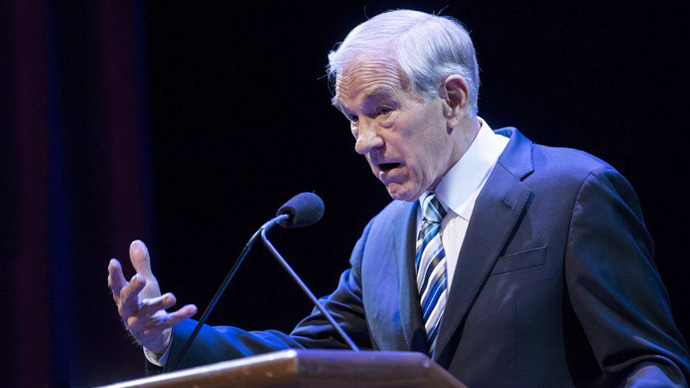 Ron Paul. (AFP Photo / Brendan Smialowski)