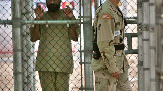 The Guantanamo Bay US Naval Base in Cuba. (AFP Photo / Brennan Linsley)