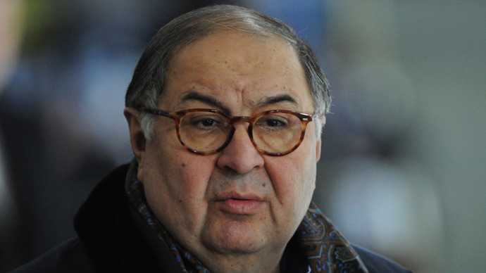 Alisher Usmanov  (RIA Novosti /Vladimir Fedorenko)