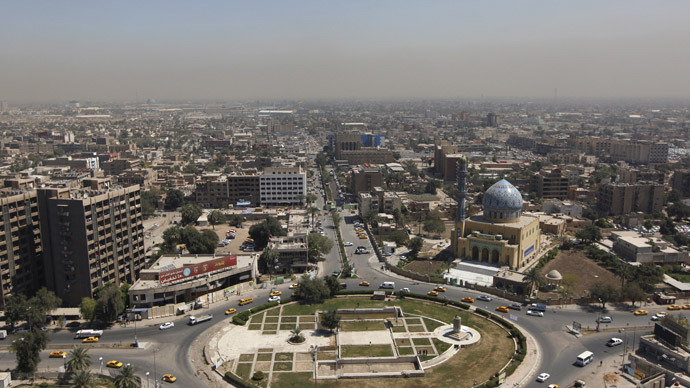 The City of Baghdad (Reuters/Saad Shalash)