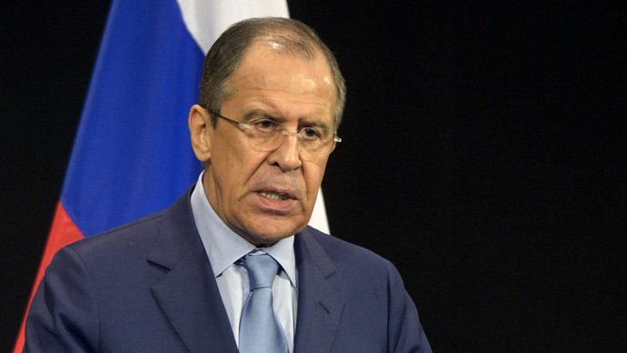 Russian Foreign Minister Sergei Lavrov (RIA Novosti/Eduard Pesov)