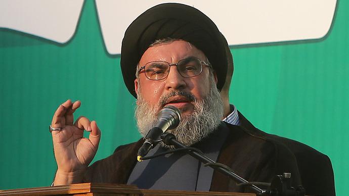Lebanon's Hezbollah chief Hassan Nasrallah (AFP Photo / Joseph Eid)
