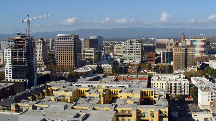Silicon Valley's capital city San Jose, California (AFP Photo)